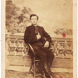 Portrait of Gallik Géza (1848-1900)