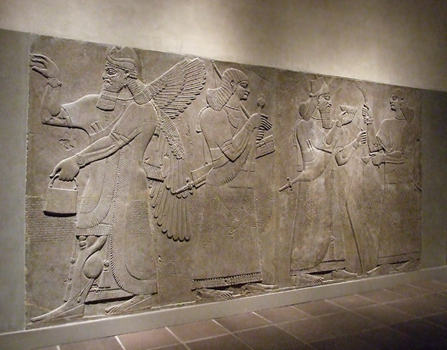 Ipernity Assyrian Reliefs In The Metropolitan Museum Of