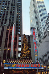 Radio City Music Hall on Christmas Eve, Dec. 2006
