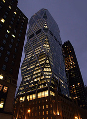 The Hearst Tower at Night, August 2007
