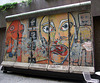 Berlin Wall Fragment in Midtown Manhattan, August 2007