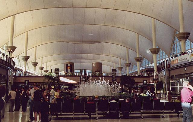 Denver Airport, Oct. 2005