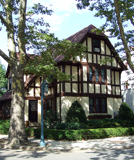 Tudor House In Forest Hills Gardens, July 2007