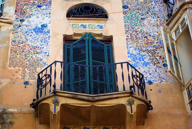 """Palma de Mallorca   (Edificio modernista """"Can Forteza-Rey"""")"""