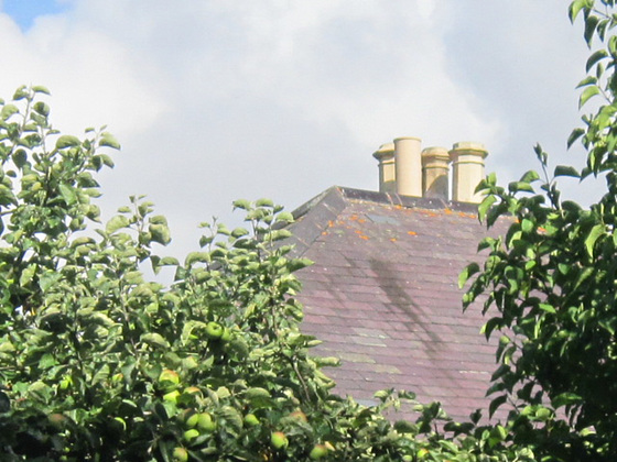 My rooftop with the four chimneys