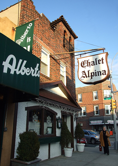 ipernity: Alberto & Chalet Alpina Restaurants on Metropolitan Avenue ...