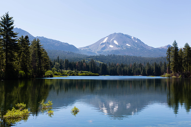 Manzanita Lake and Lassen