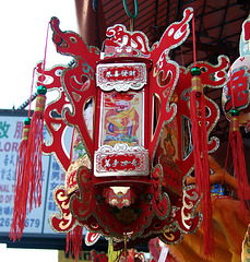 Chinese New Year Decoration in Flushing, January 2011
