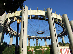 The Remains of the NY State Pavilion from the 1964-65 World's Fair in Flushing Meadows-Corona Park, September 2007