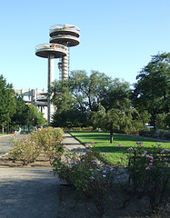 Towers from the NY State Pavilion from the World's Fair in Flushing Meadows-Corona Park,  September 2007