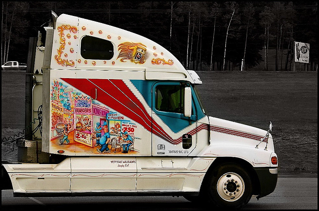 West Coast Amusements Truck