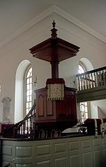 Bruton Church Pulpit