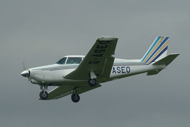 G-ASEO approaching Lee on Solent - 2 June 2014