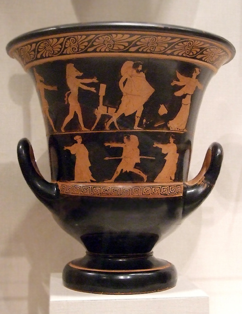 Ipernity Terracotta Calyx Krater By The Persephone Painter With
