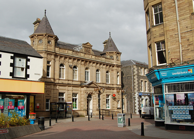 Central Post Office, Channel Street, Galashiels, Borders