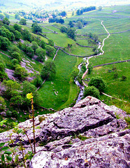 View from Malham Cove (See Notes).