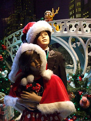 Holiday Window Display at the Disney Store on 5th Avenue in NY, December 2007