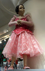 Mannequin in a Sleeping Beauty Costume at the Disney Store in NY, December 2007