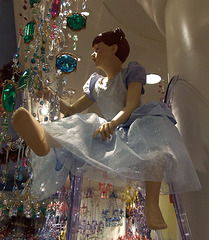 Mannequin in a Cinderella Costume at the Disney Store in NY, December 2007