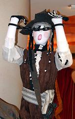 Mannequin in a Pirate Costume in the Disney Store on 5th Avenue, August 2007