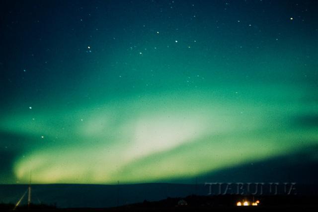 Aurora Australis to the SE