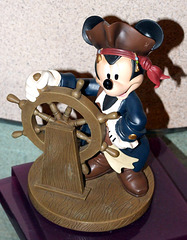 Mickey as Jack Sparrow Sculpture in the Disney Store on 5th Avenue, August 2007