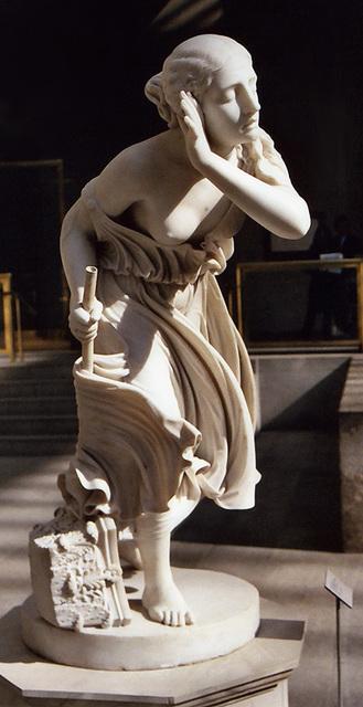 The Blind Girl of Pompeii in the Metropolitan Museum of Art, Sept. 2006