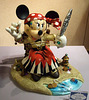 Pirate Minnie Mouse Sculpture in the Disney Store, June 2008