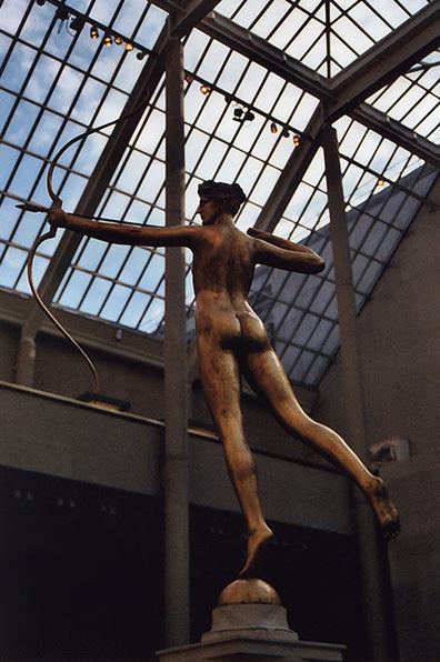 Diana by Augustus Saint-Gaudens at the Metropolitan Museum of Art, Sept. 2006