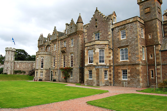 Abbotsford House, Borders, Scotland