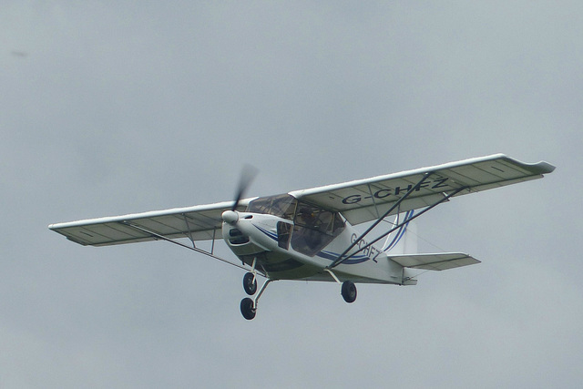 G-CHFZ approaching Lee on Solent (1) - 2 June 2014