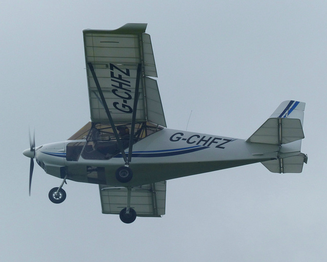 G-CHFZ approaching Lee on Solent (2) - 2 June 2014
