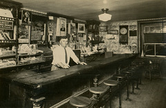 Bartender at the Bar, Lenhartsville, Pa., August 1934