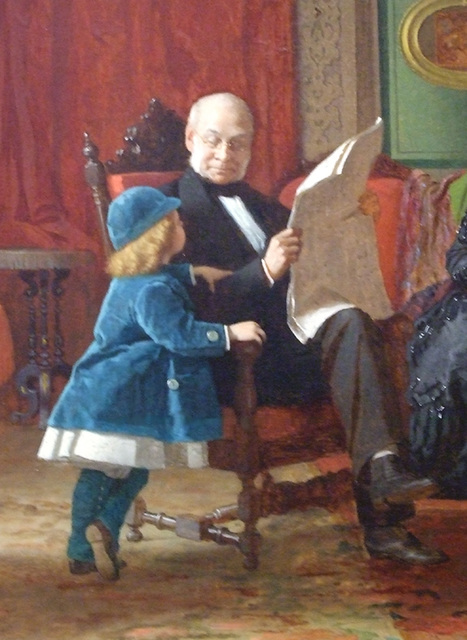 eastman皮衣_detail of the brown family by eastman johnson in the national