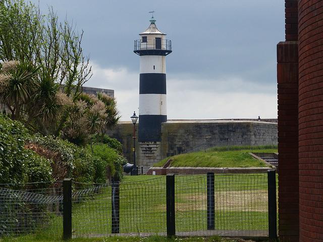 Southsea Castle Lighthouse - 2 June 2014