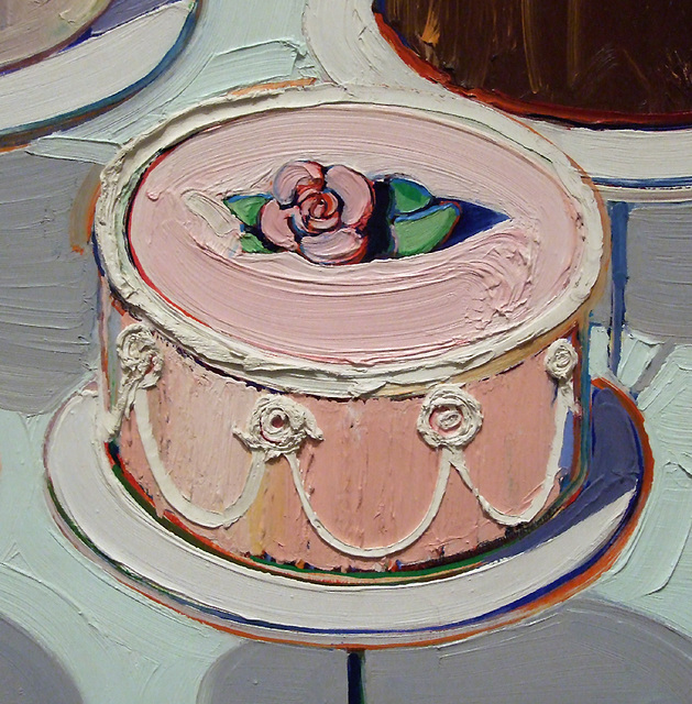 Wayne Thiebaud Pop Art Cakes