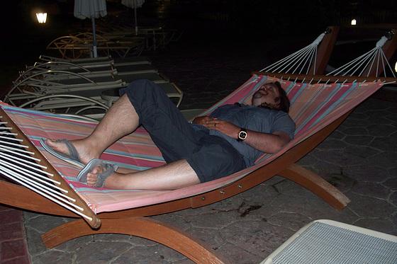 Tony chilling in Crete