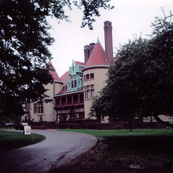 Condre Hall in Huntington, 2003