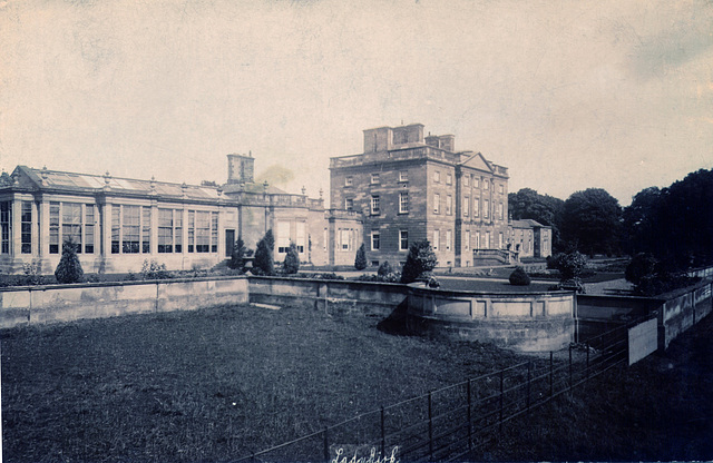 Ladykirk House. Borders (Demolished)