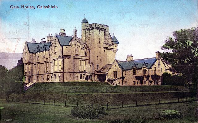 Gala House, Galashiels, Borders (Demolished 1987)