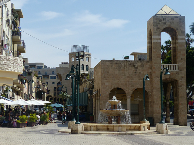 A Street View in Jaffa (2) - 16 May 2014