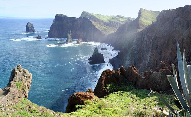 Madeira. An der Ostspitze der Insel im Salzdunst. ©UdoSm