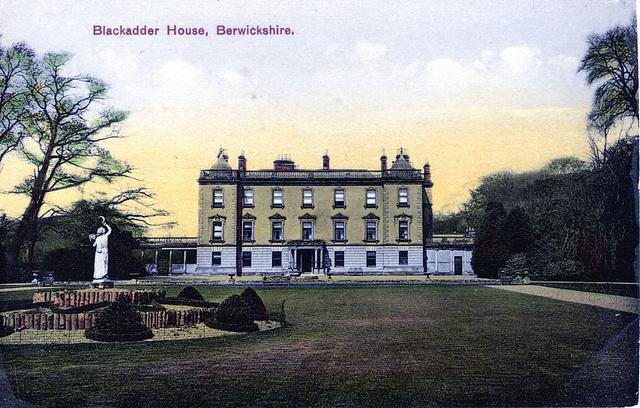 Blackadder House, Borders (Demolished)