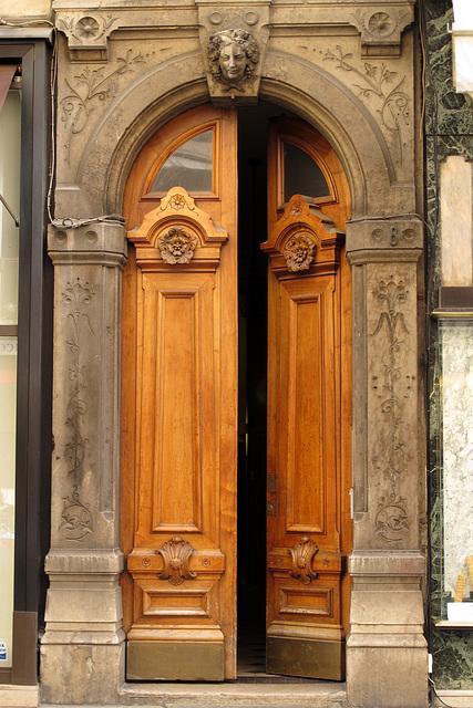 Dans Lyon (quartier de la Presqu'Ile) (Rhône, France, Europe)