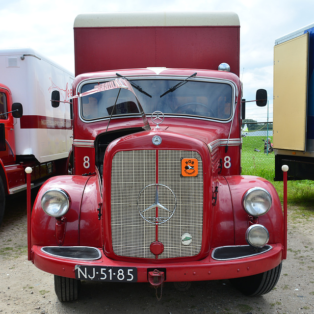 Dordt in Stoom 2014 – 1952 Mercedes-Benz L3500