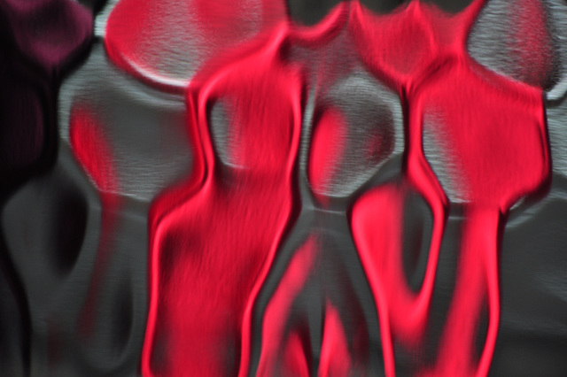 Abstract Red