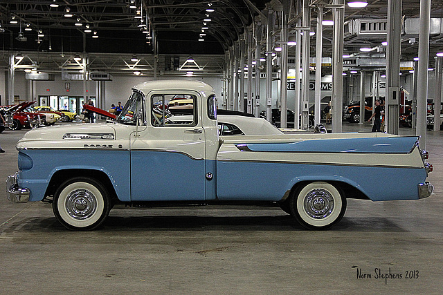 1958 Dodge Swept Side 100