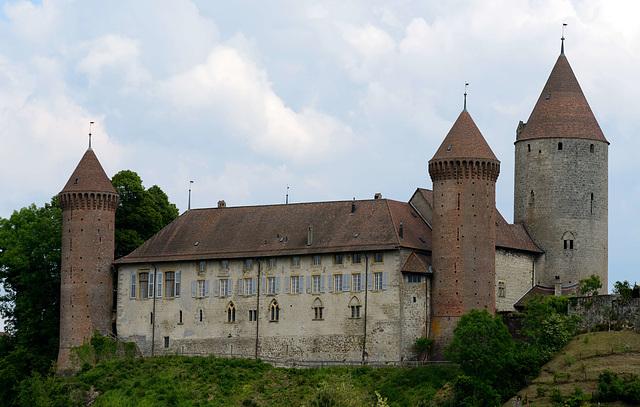 Le château d'Estavayer-le-Lac