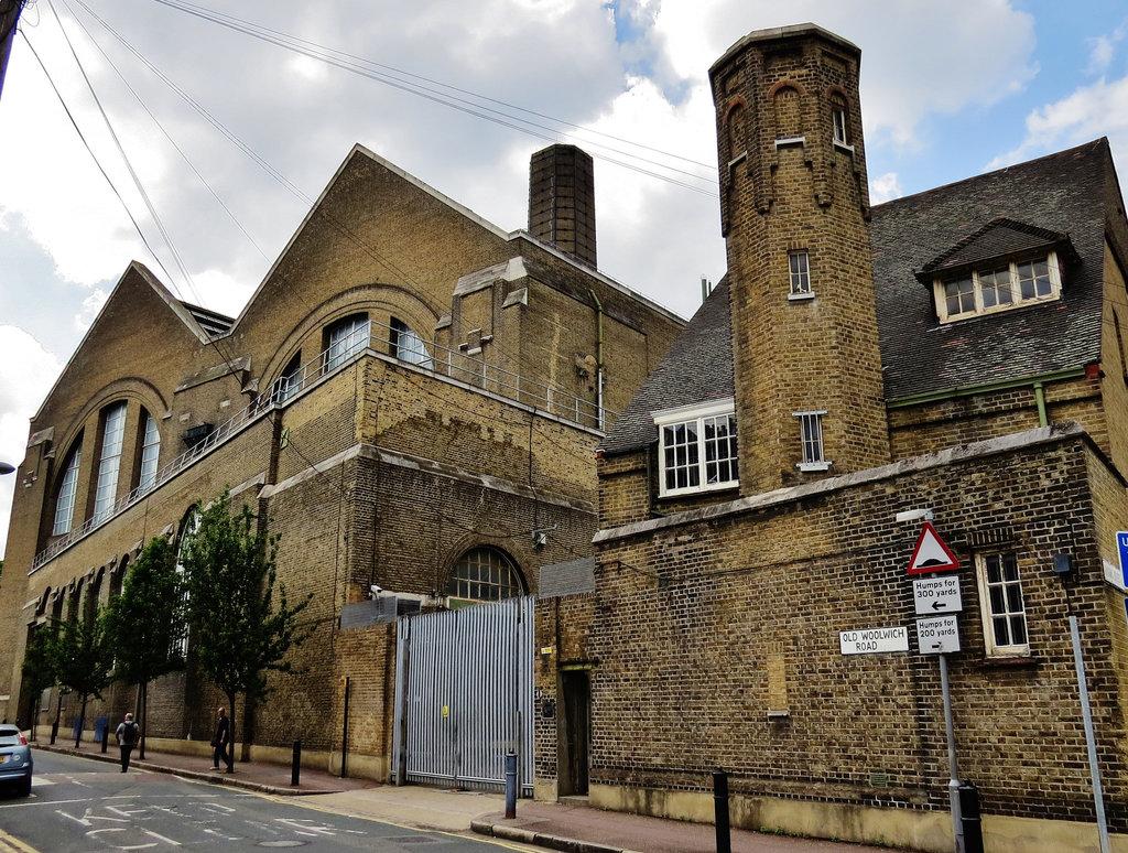 greenwich power station, london,
