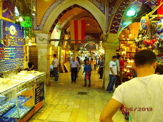 Granda Bazaro en Istanbulo